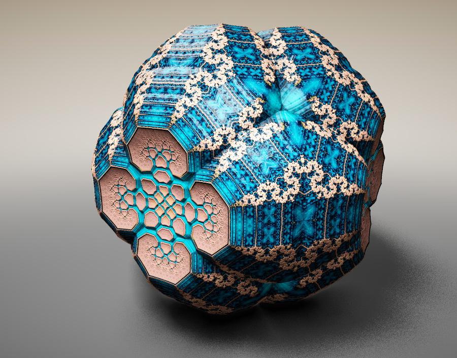 すべての折り紙 立体的な折り紙 : Faberge Fractals Tom Beddard